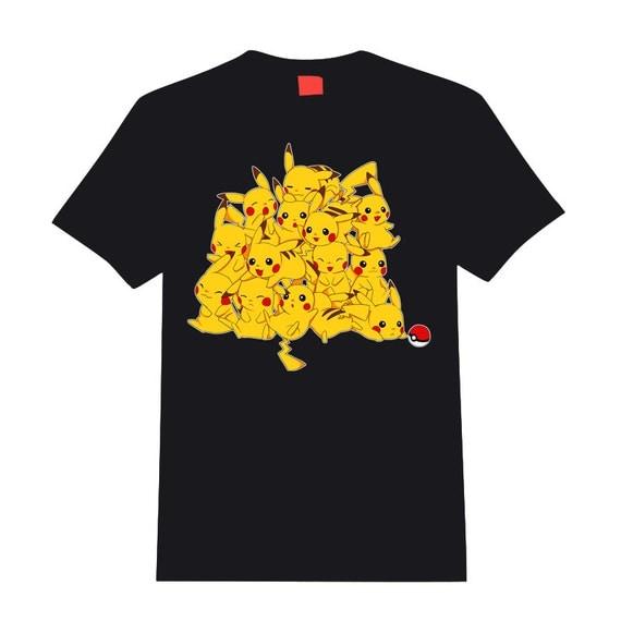 Pokemon t-shirt - Pikachu bunch