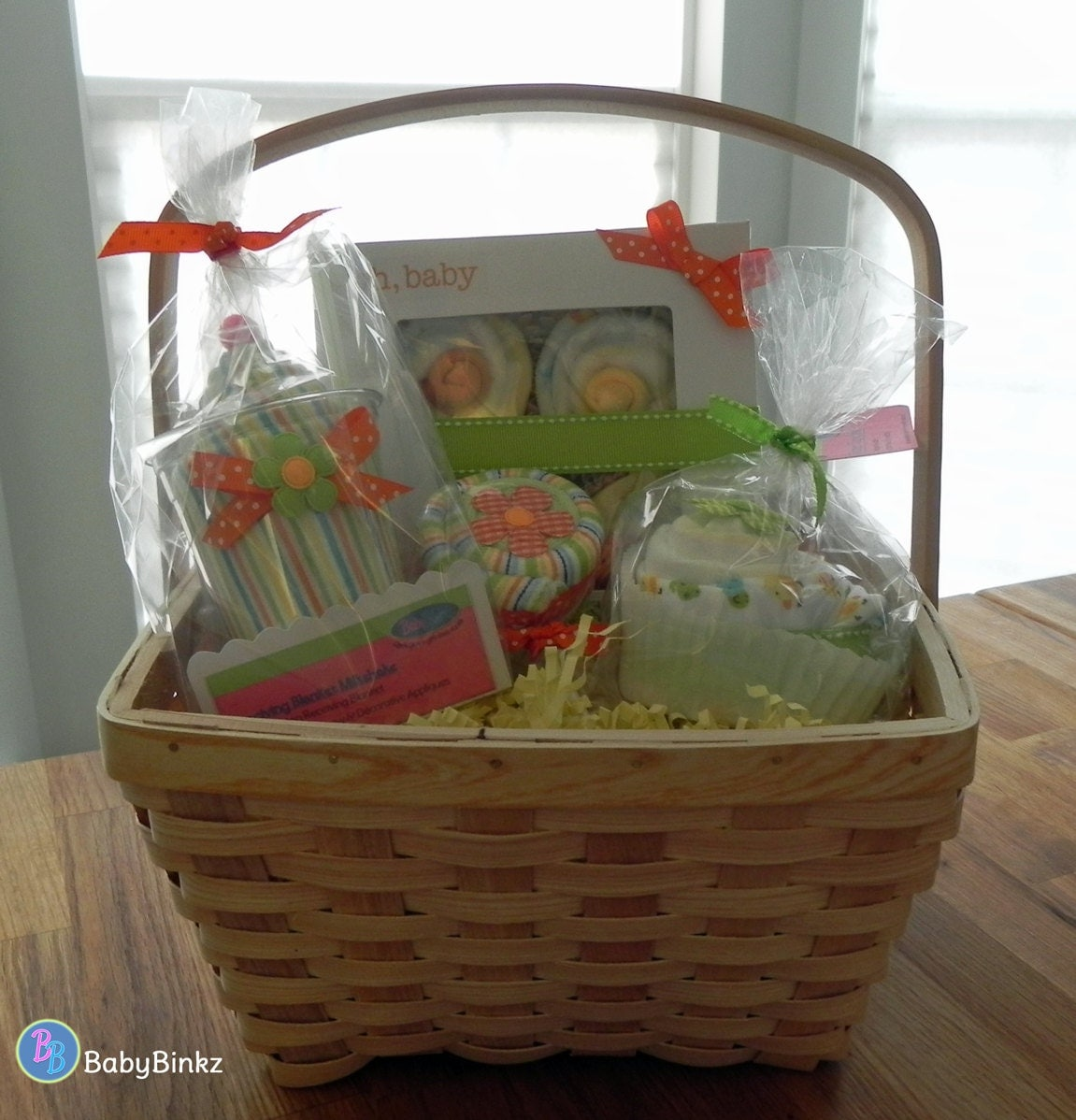 Girl Baby Shower Gift Baskets: Unique Baby Shower Gift Or