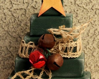 Block Christmas Tree - Cute Christmas Decor