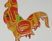 Rooster Magnet -  Arizona Rickey Mango Lime Soda Can
