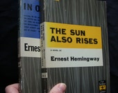 1950s 2 book set Ernest Hemingways The sun also rises and In our time
