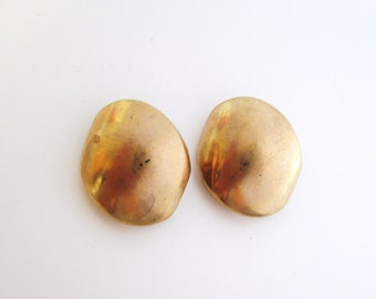 Gold buttons set of two