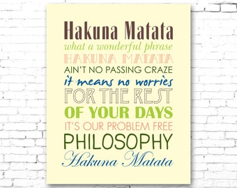 Hakuna Matata Lyrics Images Galleries With A Bite