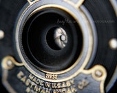Kodak Fine Art Photography Macro Photo Print Vintage Retro Camera Aperature Eastman Geekery Hipster Collectible Home Office Decor Wall Art