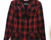 Plaid Pendleton Jacket 1970s