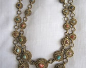 Vintage Chinese Filigree Necklace
