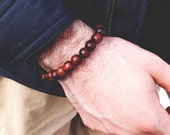 Men's Bracelet Dark Wood