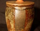 Handmade One of a Kind Ceramic Lidded Jar