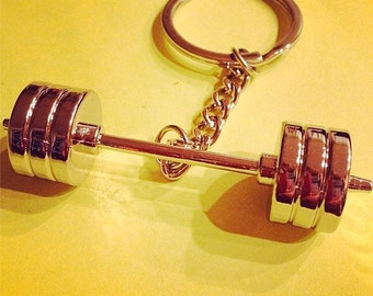 Olympic Barbell Keychain CFK007