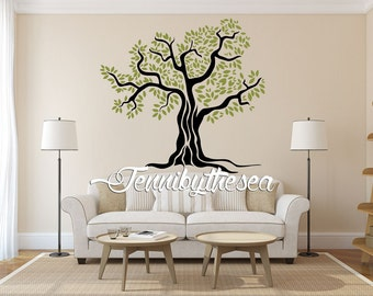 Wall Decal Vinyl Sticker Decals Olive tree