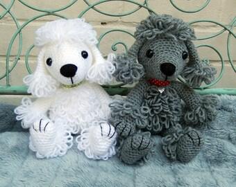 Pandora the Poodle, amigurumi crochet pattern