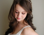 Bridal Hair Vine, Wedding Hair Accessory, Gold and Pearl Bridal Hair, Bridal Headband