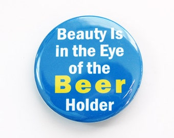 Beer bottle opener, Funny bottle opener, Bottle Opener, Humor, funny gift for him, beer, Blue, Fathers Day gift (3583)
