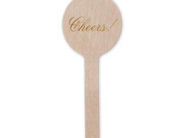 Cheers! Stir Sticks