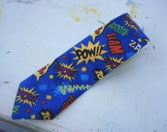 Onomatopoeia Necktie // OLD STOCK 50% OFF