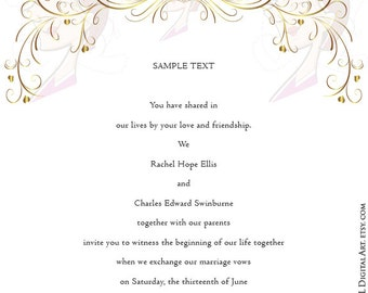GOLD Retro Swirl Page Border Decoration Elegant Curly Flourishes Heart Romance Wedding Graphics Decorative Design Png Clipart Download 10313