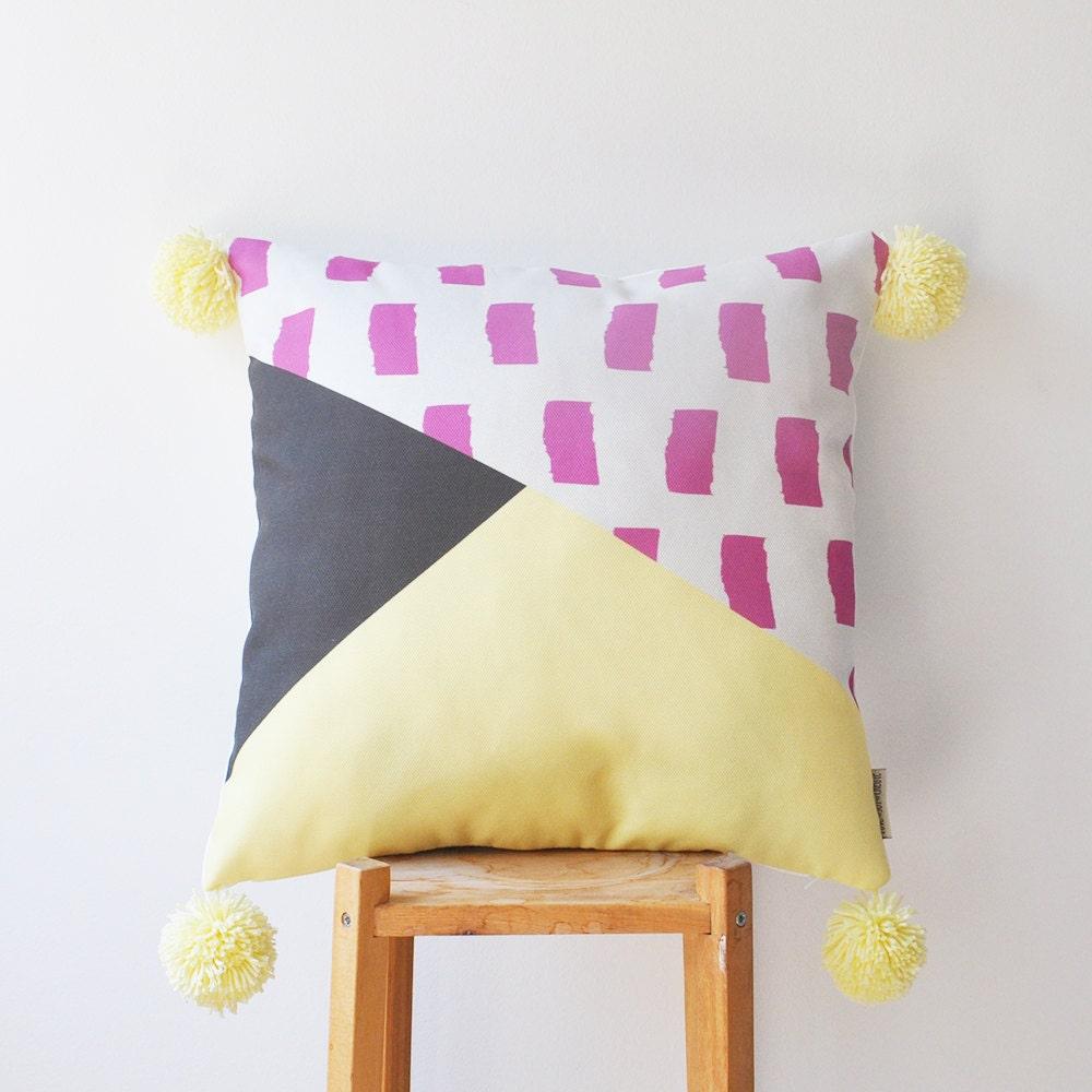 Decorative Throw Pillows Nursery : Decorative Pillow Kids Pillows Modern Nursery Pillow Teen