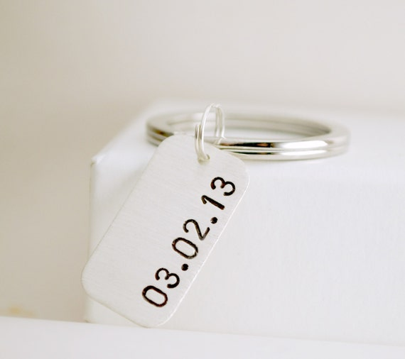 Silver Wedding Anniversary Gifts For Him: Custom Date Anniversary Gift For Him Or Her Sobriety Date