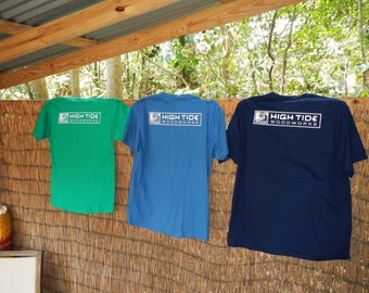 T-shirts with logo - High Tide Woodworks