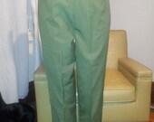 "Vintage 1950 olive high waisted pants - 30"" waist"