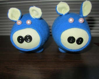 Handmade Sock Pig Piggie Toy