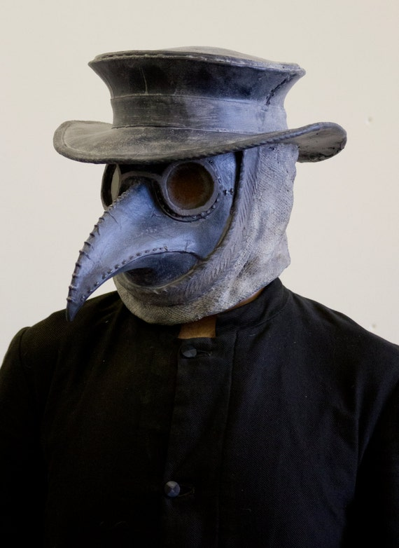 how to make a plague doctor hat