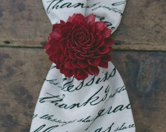 4 Red Napkin Ring Holders, Wedding Napkin Ring, Red Napkin Rings, Table Decor, Dinner Party