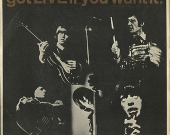 The Rolling Stones 1965 EP - got LIVE if you want it!