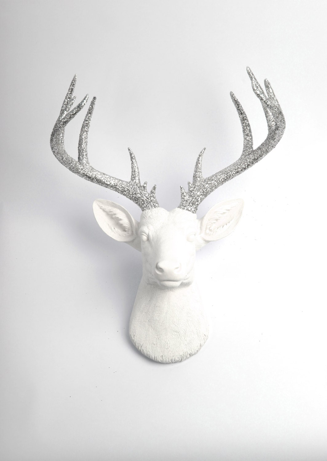 Faux Deer Head The Xl Weston By White Faux Taxidermy Resin