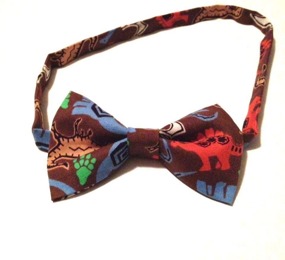 aldult size handmade dinosaur bow tie bow ties are cool free