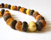 Natural Genuine Baltic Amber Necklace Organic Jewelry Amber Summer Time