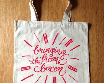 Bacon Market Bag
