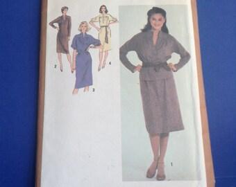 1979 Simplicity Dress & Skirt Pattern, no. 9281, new uncut, original, vintage dress / skirt pattern, 2FOR7, Greece