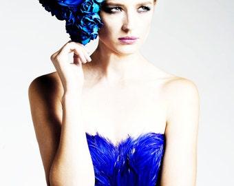 IRINA SHABAYEVA COUTURE rose headpiece