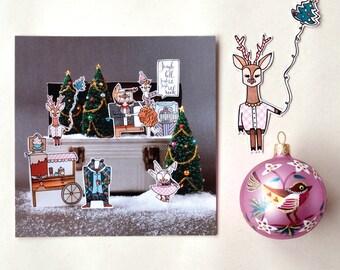 Christmas / holiday greeting card