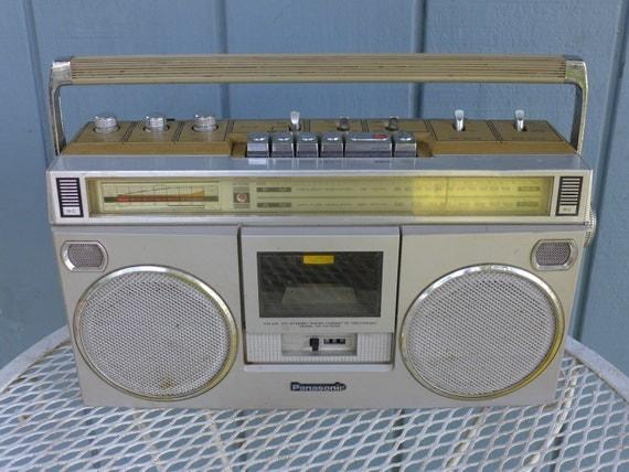 Vintage 80s Panasonic Rx 5090 Boombox Ghetto Blaster Works