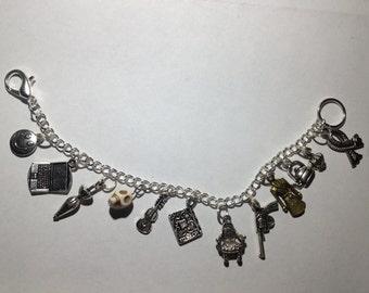 Sherlock BBC Charm Bracelet