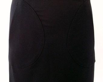Black mini skirt with pockets Luci Lü