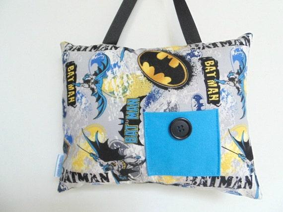 Batman tooth fairy pillow boys tooth fairy pillow boys for Batman fairy door