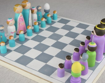 Eco Friendly Custom Kids Chess Board