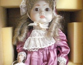 Pouty, A Collectible Doll with Stand by Francine's World, New in Box, 19 inches tall