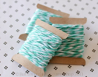 Bakers Twine - Turquoise - Caribbean  - 15 Yards