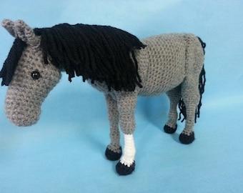 The Perfect Horse Realistic Amigurumi Crochet Pattern PDF