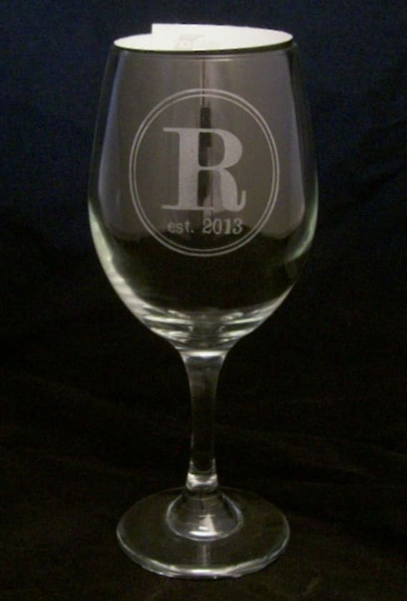 Wedding Gift Wine Glasses : Wine Glasses wedding gifts, anniversary gifts, bridal shower gifts ...