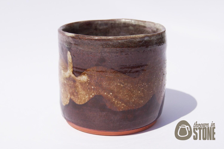 Rustic Ceramic Pot Tea Light Holder Terracotta By