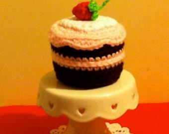 Crochet French Elegant Dessert Single Serve Mousse Cake