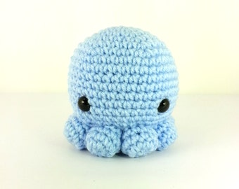 Midi Octopus Amigurumi Plush (multiple colors)