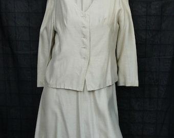 Women's Vintage Dress/Jacket Combo