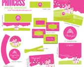 PRINCESS Party Supplies {Pink Castle and Crown} - The Celebration Shoppe