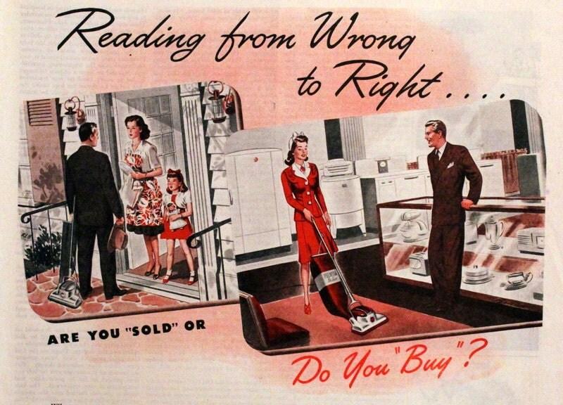 1945 Premier Vacuum Cleaner Ad Retro Vintage by ...